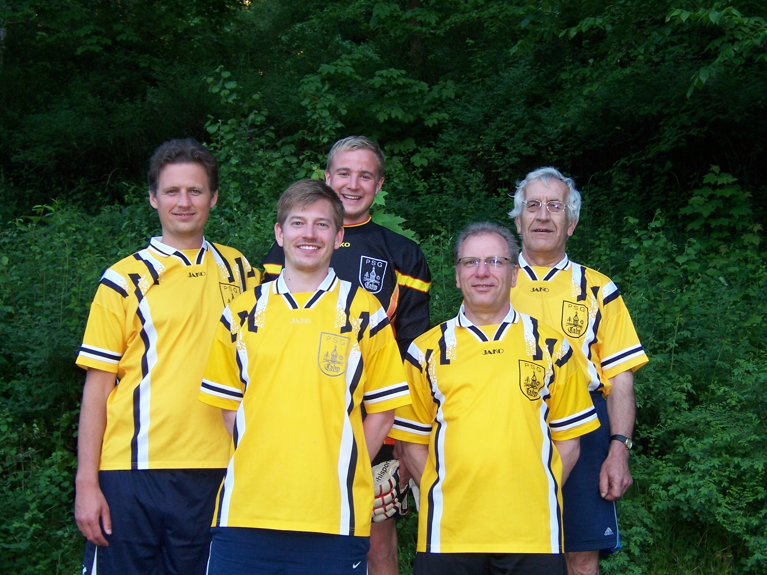 Sport Gruppe beim Elfmeterturnier in Calw-Hirsau